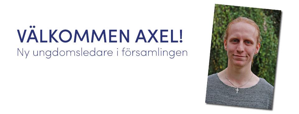 Axel blir ny ungdomsledare
